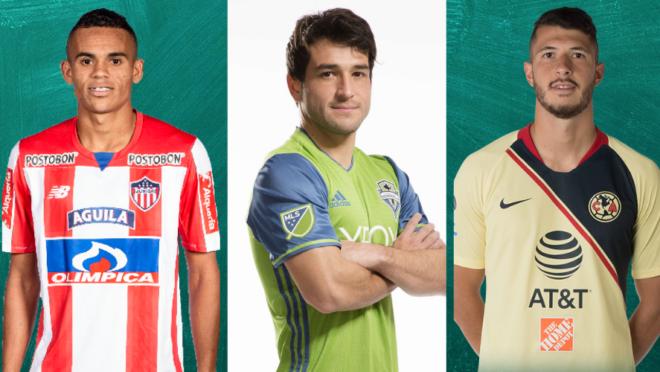 Reforços Copa América Lodeiro Diaz e Rodriguez