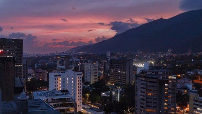 Caracas, capital da Venezuela, tem atraído migrantes com alguma vantagens a seus moradores em comparação com o interior do país