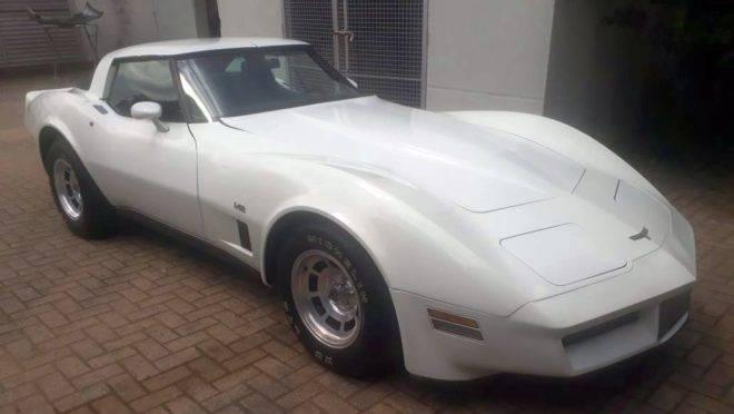 Chevrolet Corvette 1980 modelo LS82