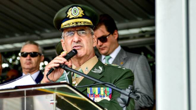 Luiz Eduardo Ramos Baptista Pereira é general de Exército e atual chefe do Comando Militar do Sudeste.