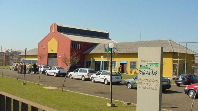 Penitenciária Industrial de Guarapuava. Foto de 2003.