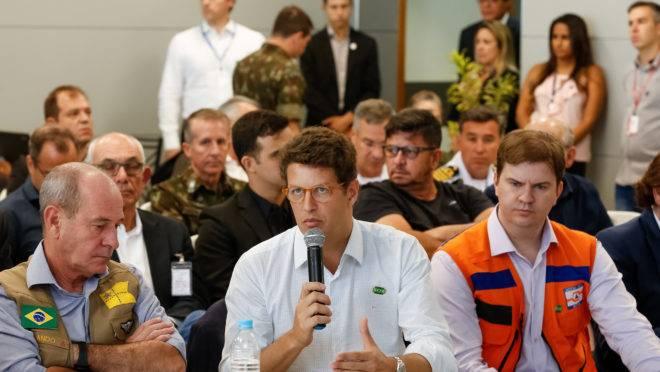 Ricardo Salles está à frente do Ministério do Meio Ambiente desde o início do governo Bolsonaro