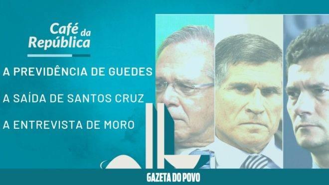 Uma semana ruim para Paulo Guedes, Santos Cruz e Sergio Moro