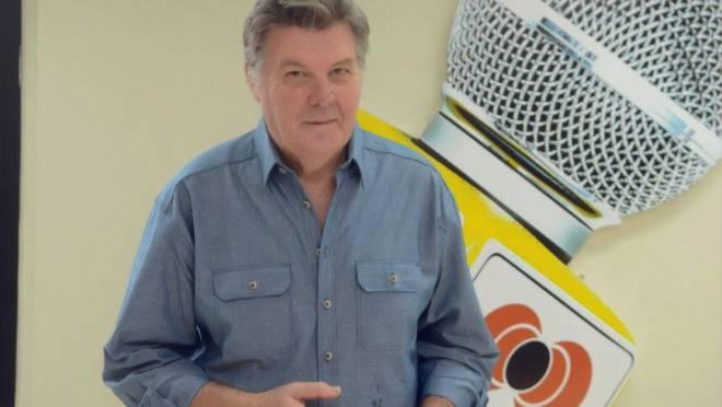 """Zezão era chamado de """"Cid Moreira"""" pela voz forte e marcante e apresentar o telejornal"""