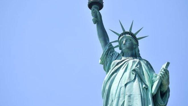 Estátua da Liberdade, em Nova York. Foto: Angela Weiss/AFP