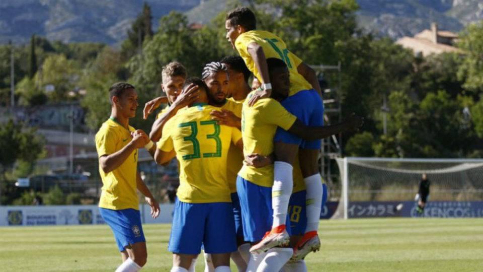 Nos pênaltis, Brasil conquista o nono título do Torneio de Toulon