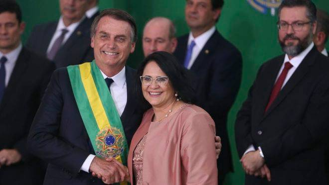Bolsonaro e Damares