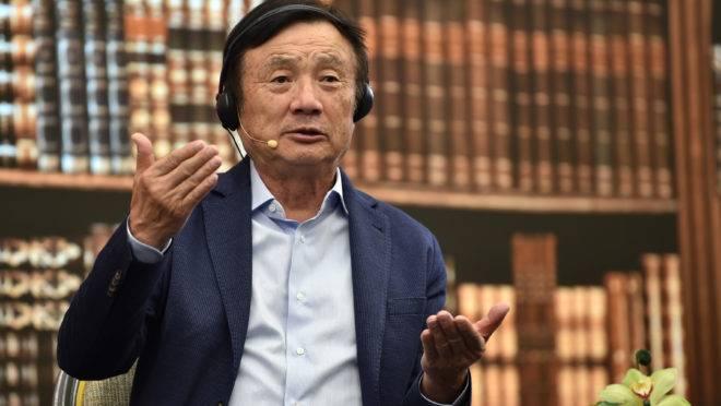 Fundador e CEO da Huawei, Ren Zhengfei