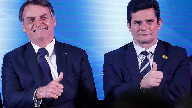MP do leilão de bens do tráfico: Bolsonaro e Moro