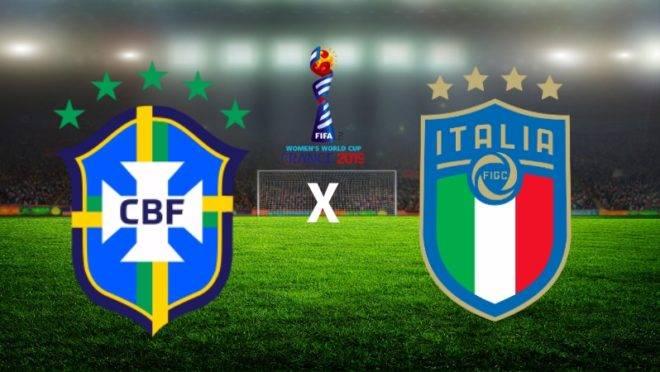 Brasil decide a sobrevivência na Copa do Mundo feminina contra a Itália