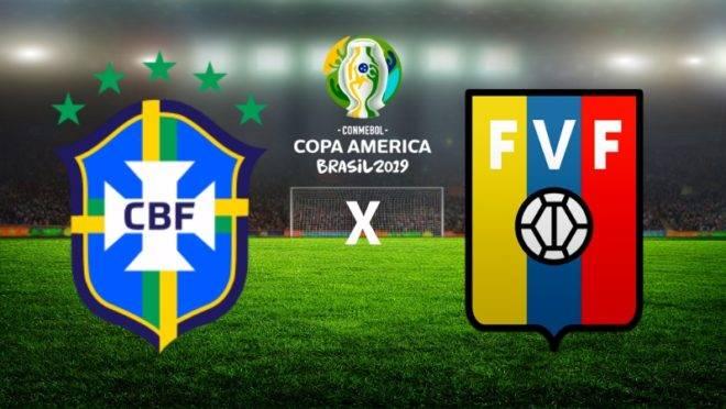 Com expectativa de um público mais caloroso, Brasil encara a Venezuela em Salvador