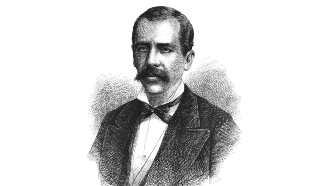 Gravura de Tobias Barreto de Meneses.