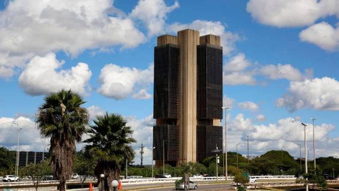 A sede do Banco Central, em Brasília.