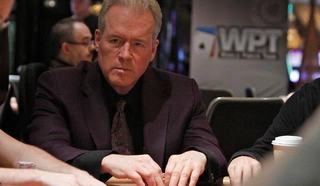 Robert Mercer durante um torneio de pôquer