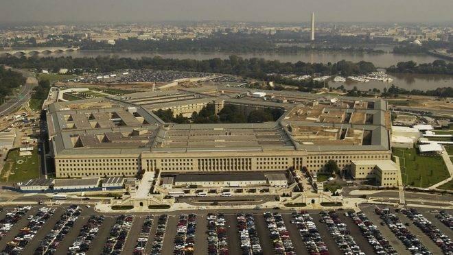 O Pentágono, sede do Departamento de Defesa dos Estados Unidos, em Washington