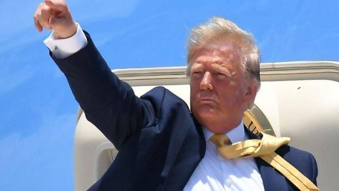 Trump, presidente dos EUA: tensão com o Irã