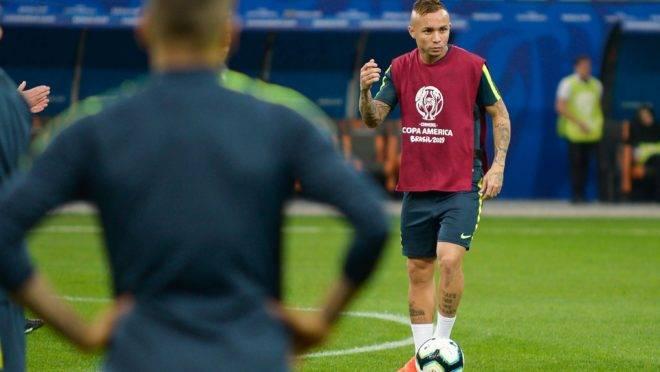 Everton Cebolinha na seleção brasileira