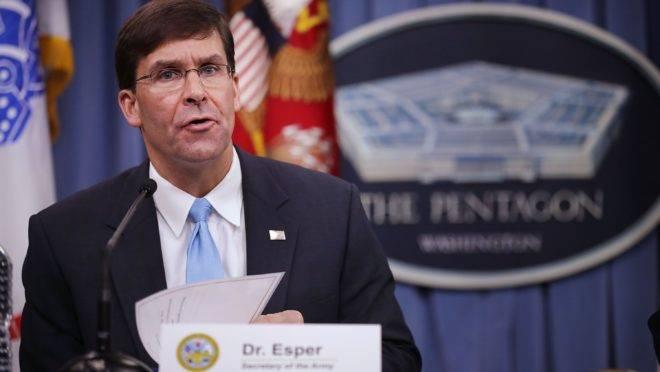 Mark Esper, novo secretário de Defesa dos Estados Unidos