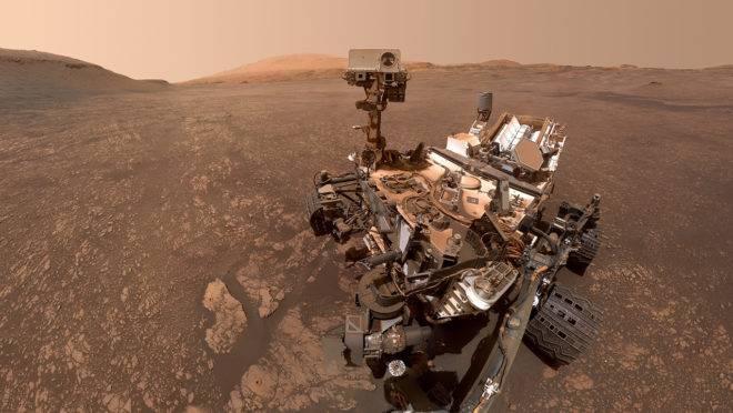 Veículo em Marte detecta nuvem de gás que sugere possibilidade de vida