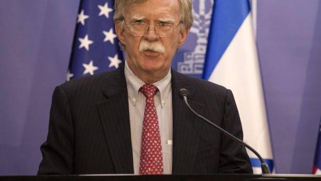 John Bolton, assessor de Segurança Nacional do presidente Donald Trump