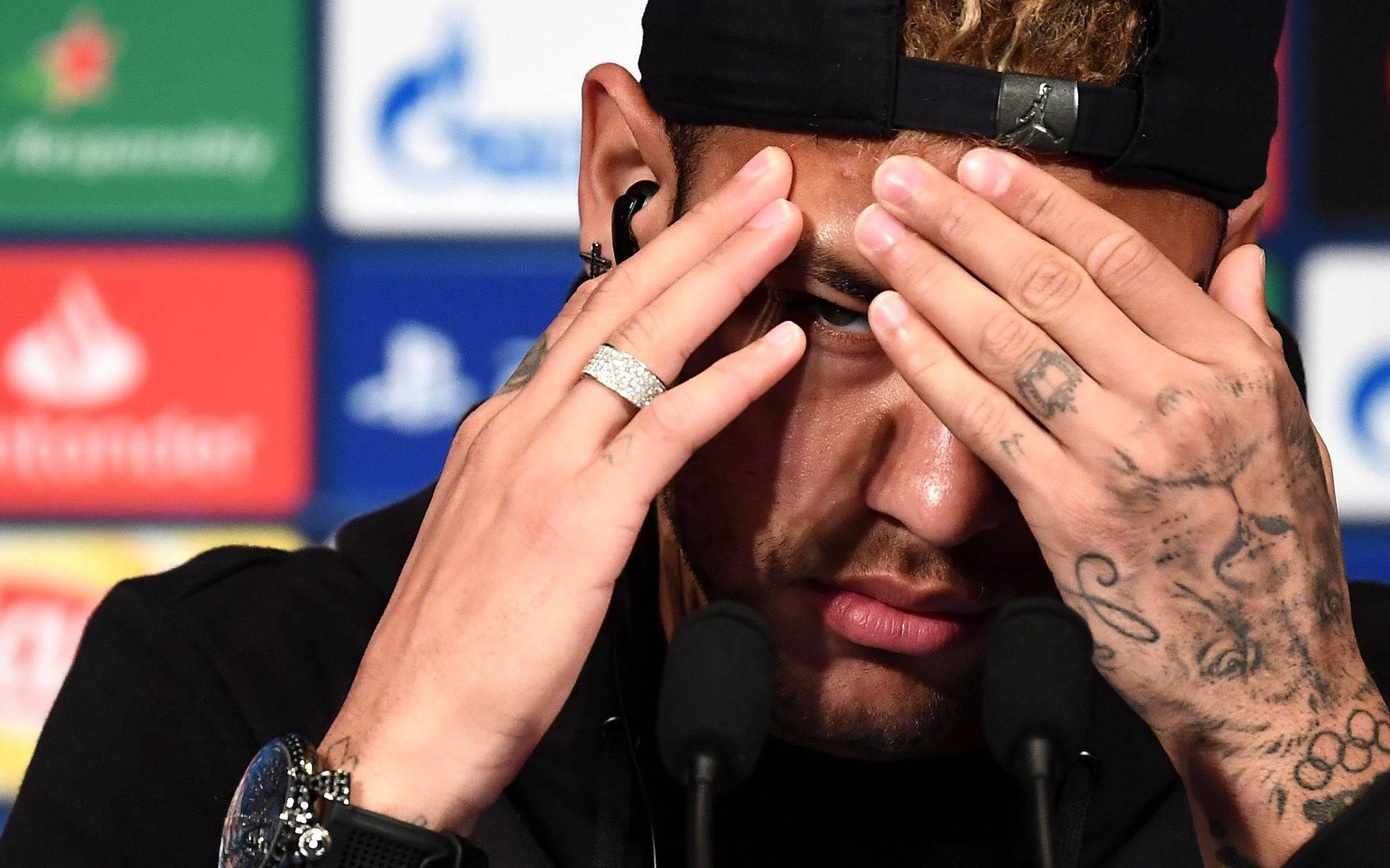 Neymar. Photo by FRANCK FIFE / AFP)