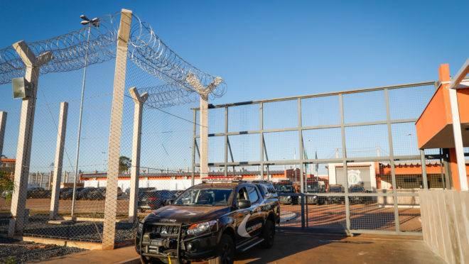 Penitenciária federal de Brasília.