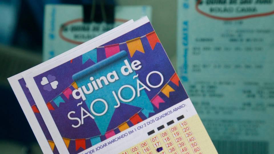 Sorteio nesta segunda: Quina de São João deve chegar a R$ 140 milhões