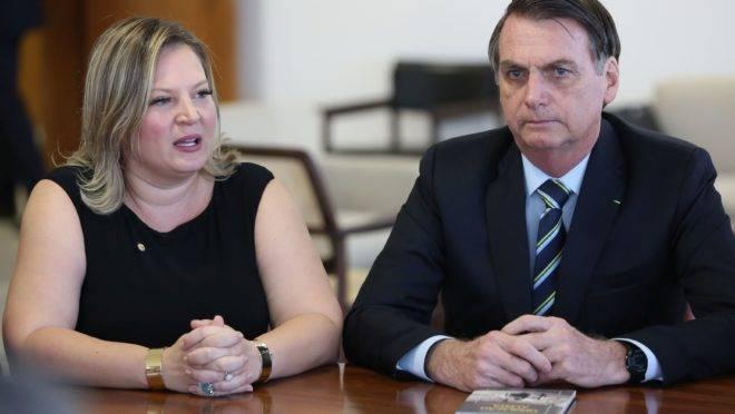 Pré-candidata à prefeitura de São Paulo: Joice e Bolsonaro
