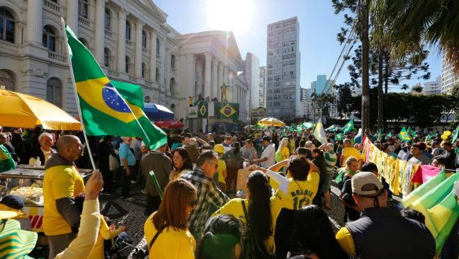 Manifestação dia 30 de junho