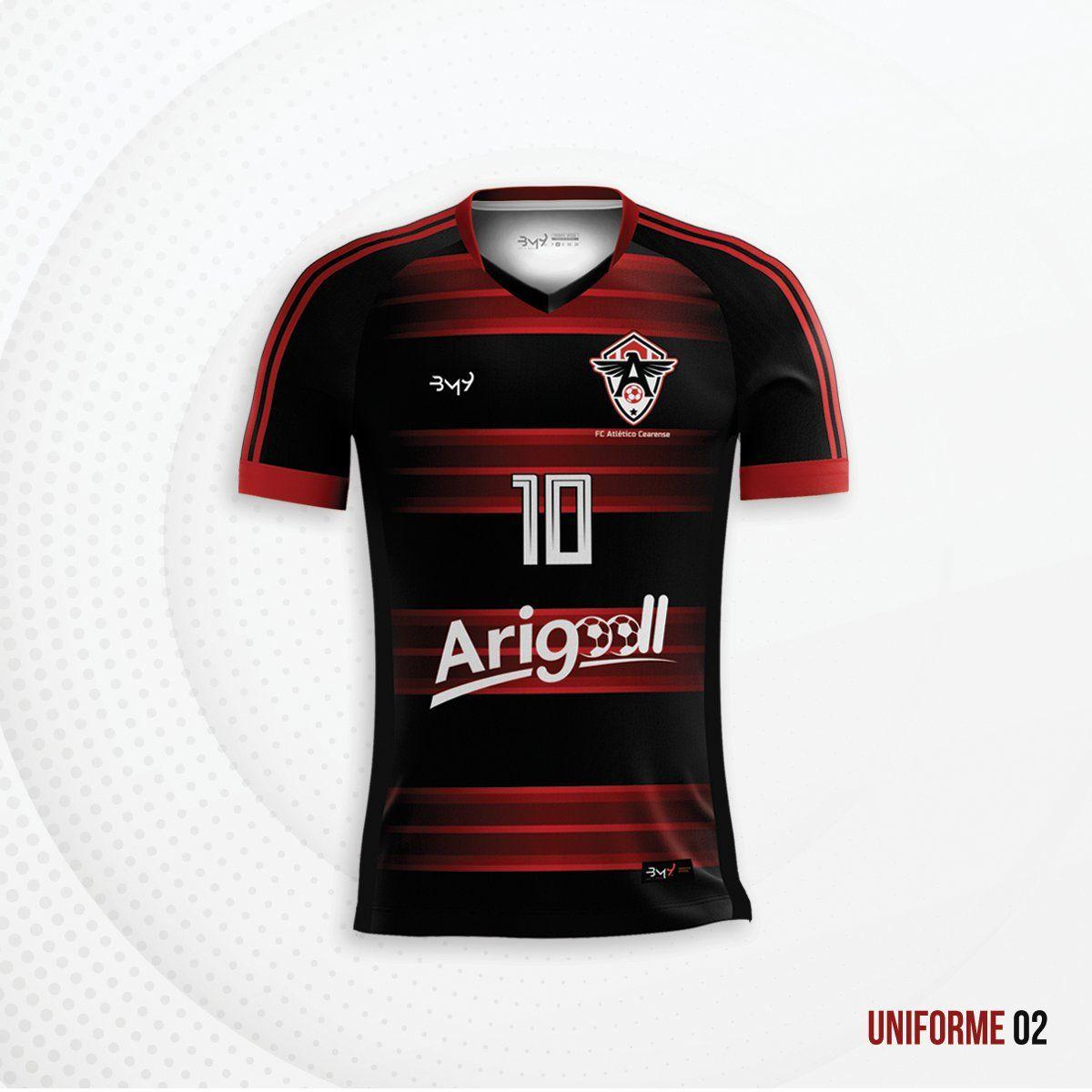 Uniforme n.º1 do Atlético-CE em 2019