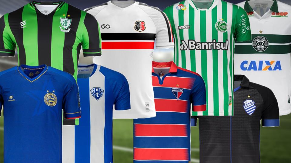 Paraná prepara anúncio de sua marca esportiva. Confira top 5 de camisas feitas por clubes