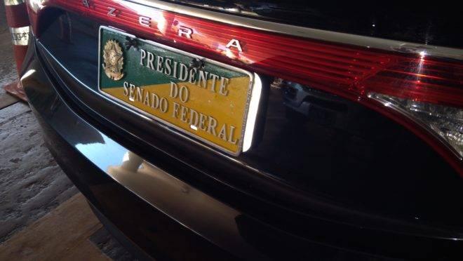 carros oficiais de senadores