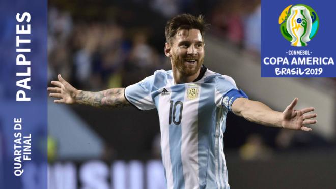 Argentina encara a Venezuela nas quartas de final da Copa América 2019