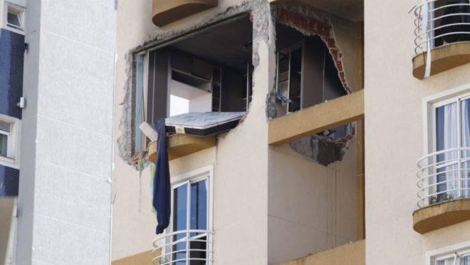 Explosão em apartamento do Água Verde
