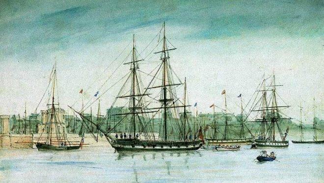 HMS Beagle na Austrália