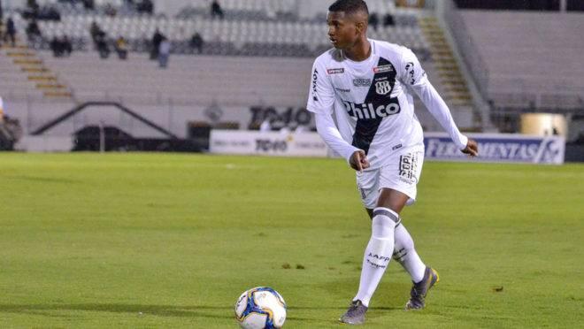 Jovem Abner já tem a provação do técnico Tiago Nunes para vir ao Athletico.