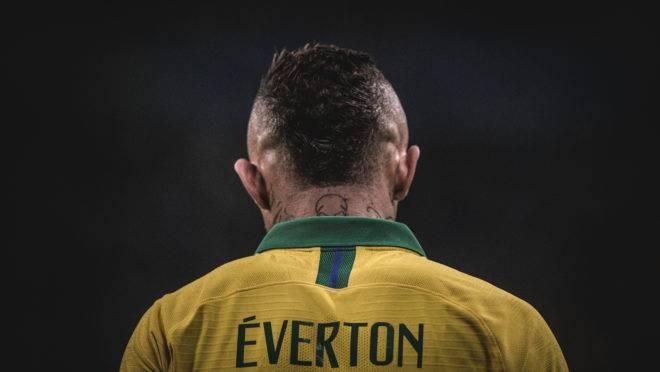 Brasil x Argentia - Éverton, destaque da seleção na Copa América.