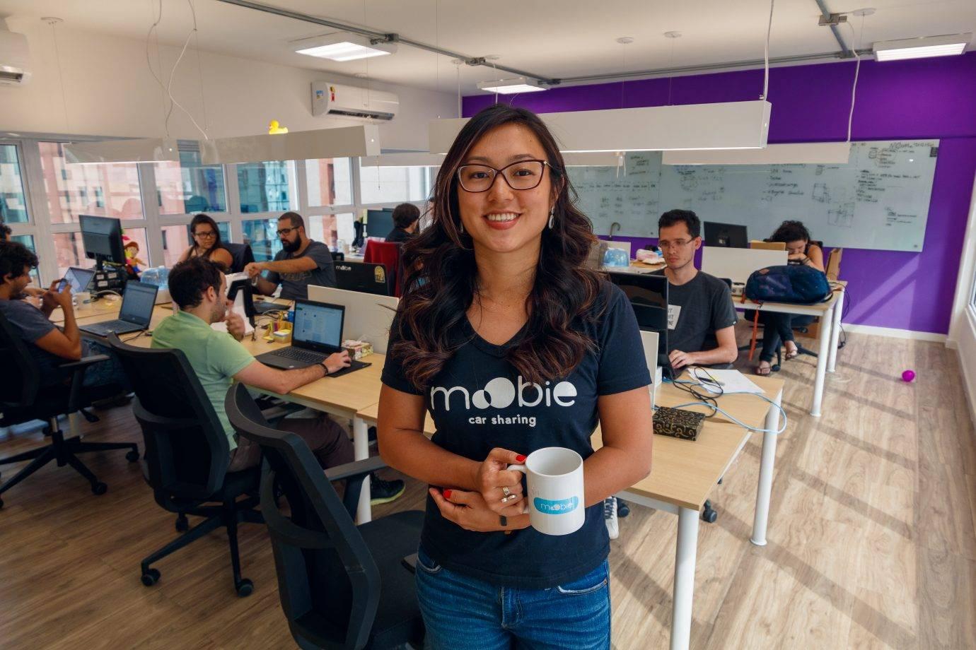 Tamy Lin é CEO e fundadora do MoObie. Foto: divulgação.