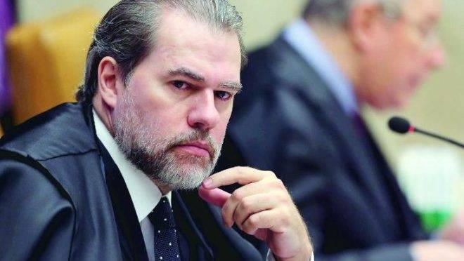 O ministro e presidente do STF, Dias Toffoli, criticou vídeo de Roberto Alvim.