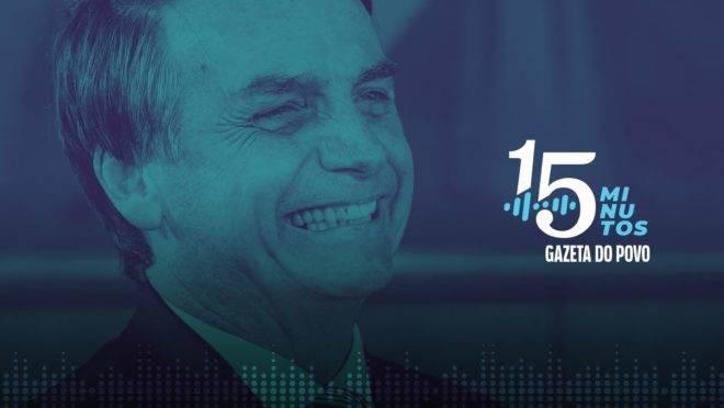 Primeiro semestre da presidência de Jair Bolsonaro é destaque do 15 Minutos.