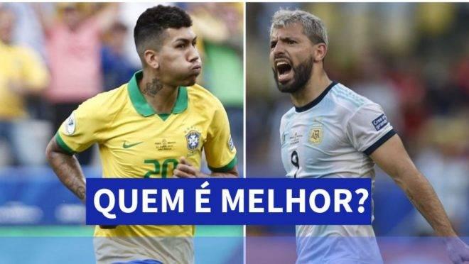 Resultado de imagem para brasil e argentina
