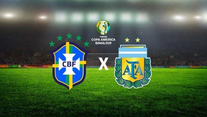 Brasil x Argentina: Tudo sobre o clássico que definirá um finalista da Copa América