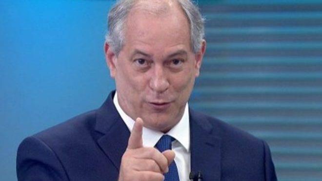 Ciro Gomes, do PDT.