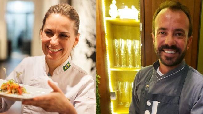 Joy Perine  e Giuliano Hahn, chefs consagrados em Curitiba, farão um jantar especial na próxima sexta-feira, no Armazém Santo Antônio.