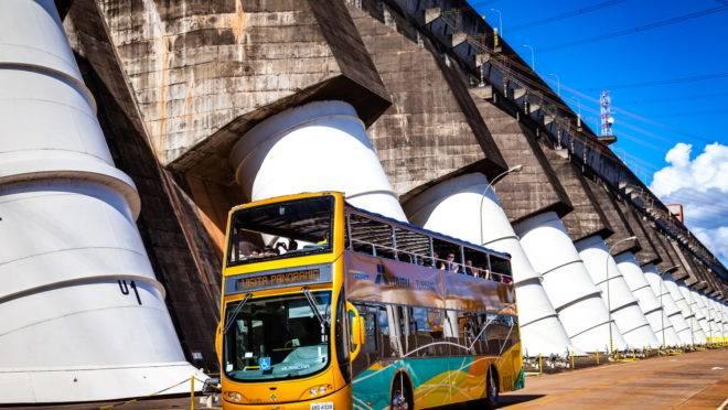 ônibus turismo Itaipu