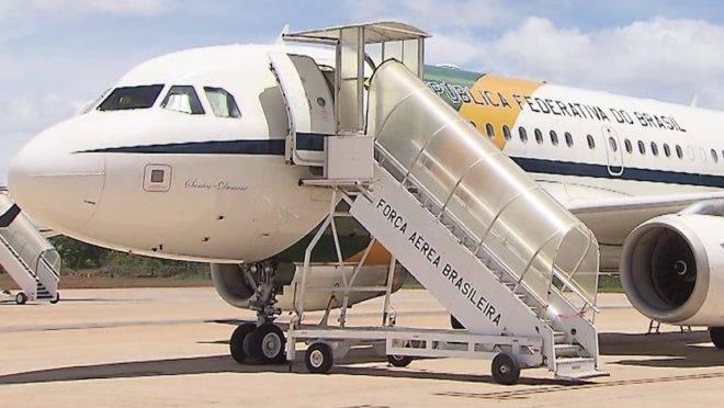 Militar preso com drogas em avião da FAB que levava a comitiva presidencial