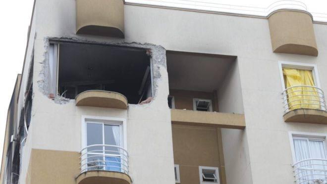Explosão em apartamento no  bairro Água Verde matou um menino de 11 anos e deixou três pessoas feridas.