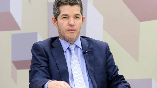 O deputado Delegado Waldir, líder do partido na Câmara.