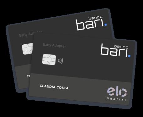 Bari card, cartão do Banco Bari, antigo Banco Barigui.