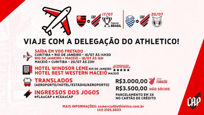 Imagem divulgação Athletico.